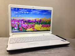富士通 白Lifebook! Core i3 /DVDマルチWin10