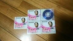 パナソニックDVD-R 5枚セット両面録画