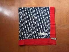Dior トロッター柄 シルクスカーフ ディオール
