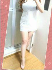 白のキャミワンピース(/ω\*)