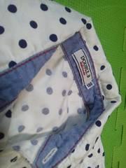 DOUBLE.Bミキハウスシャツ130サイズ