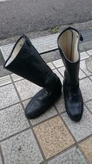 トウヨコ製 特攻ブーツ 本革。