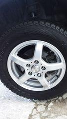 175/80R15スタッドレスタイヤ社外アルミホイール付テリオスキットパジェロミニキックス