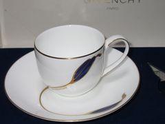 未使用☆GIVENCHY PARIS*コーヒーカップペアセットNo.BO-110