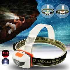【送料無料】3LED防水ヘッドライト600ルーメン◆LEDヘッドランプ/LED懐中電灯