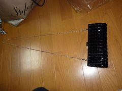★新品★ジュエルズプロムビジューチェーンバッグ黒色定価6300円