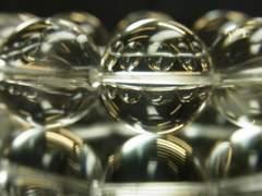 運命を好転させる!!本水晶22ミリ数珠ブレスレット