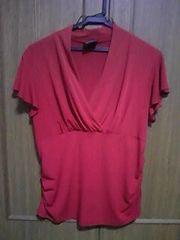 Tシャツ/赤/半袖/まとめ買い歓迎