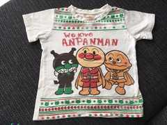 APKCアンパンマン取り外し可能ロンTにもなるTシャツ110センチ