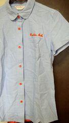 美品〓ロデオクラウンアメカジ風半袖シャツ鈴木奈々系定型外250