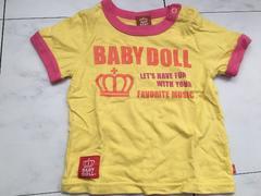 BABY DOLL半袖Tシャツ★ベビードール80cm