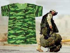 新品 Cotton Jungle Camoflage キャモフラ T−シャツ 115
