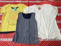 即決送込み♪LL☆Tシャツ&ノースリーブまとめ売り大きいサイズ