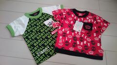 新品☆ベビドTシャツ2点size80
