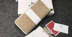 新品 COACH コーチ F52859 長財布レディース財布