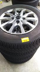 145/80R13  スタッドレスタイヤ、アルミホイール付4本セット
