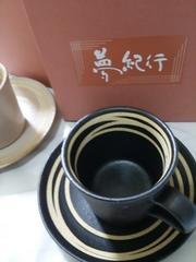 夢紀行 ティーカップセット  風呂敷付  マグカップ ペア 和風