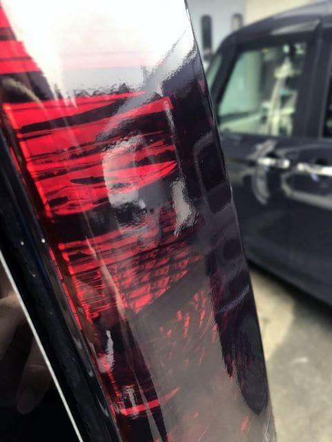 Tint+水洗→再利用OK バモス HM1/HM2 後期 テールランプ スモークフィルム < 自動車/バイク