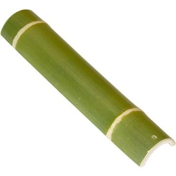 青竹踏み 無塗装の天然竹そのままの踏み心地!丈夫な二節付