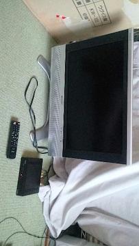 送無 SHARP LC-22AA5 2005年製 アナログ液晶テレビ+地デジチューナー