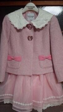 ピンク入学式用セット服