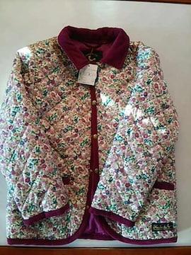 新品HusHusH上品花柄ジャケット、120 はっ水加工