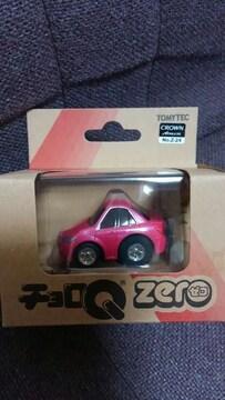 チョロQZero トヨタ クラウンアスリート ピンク 未開封 新品限定品