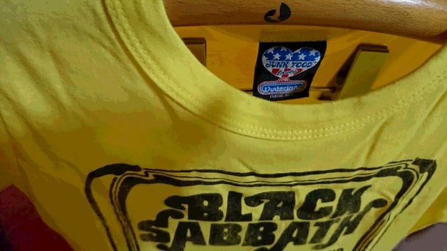 JUNK FOOD  BLACK SABBATH Tシャツ カットソー < ブランドの