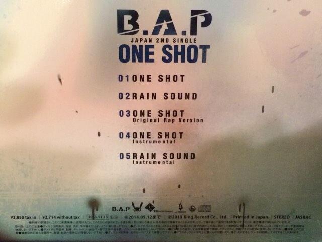 激安!超レア!☆B.A.P/ONE SHOT☆初回限定盤B☆超美品!☆ < タレントグッズの