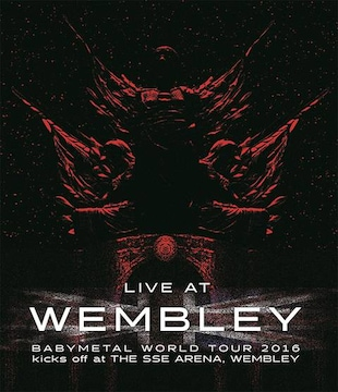 即決 初回 BABYMETAL WORLD TOUR 2016 WEMBLEY 2016.4.2 Blu-ray