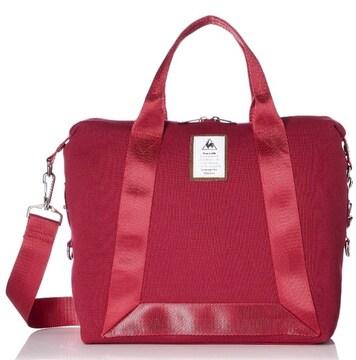 新品未使用ルコックスポルティフ赤ショルダーバッグトートバッグ