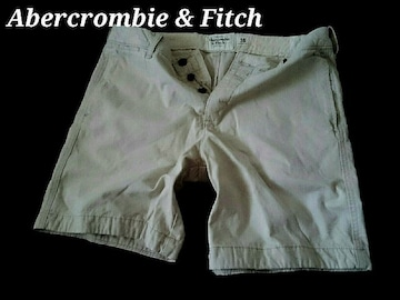 【Abercrombie&Fitch】Vintage プレッピーフィット ショートパンツ 36/L.Khaki