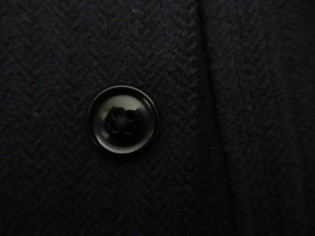 人気ブランド&良品★タケオキクチ/TAKEO KIKUCHI★毛/紺/M < 男性ファッションの