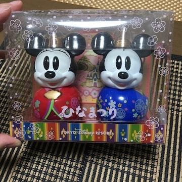 ディズニーお雛様ミニーマウスお内裏様ミッキーマウスひなまつり