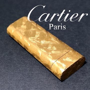 良品 1スタ★カルティエ/Cartier ガスライター【火花OK】GOLD