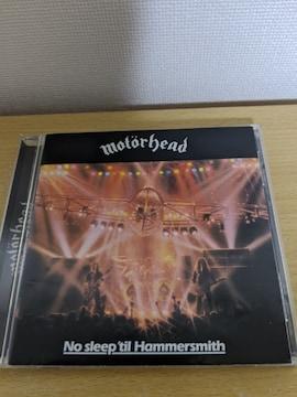 MOTORHEAD(モーターヘッド)「ノ・ースリープ・ティル・ハマースミス」