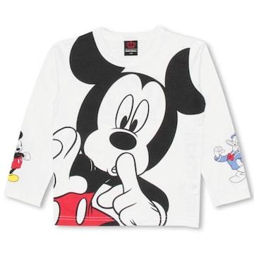 新品BABYDOLL☆130 ミッキー ロンT ディズニー Tシャツ ベビードール