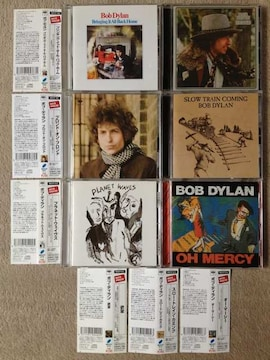 ボブディラン 国内正規盤 CD 6枚セット デジタルリマスター 欲望 オーマーシー等
