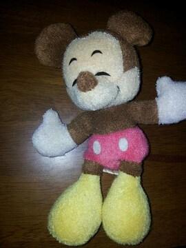 ミッキーマウス◇ディズニー♪サンアンドスター↑ヌイグルミ☆