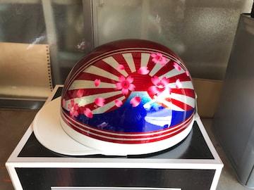 コルク半帽 ラメ 日章富士 桜