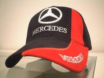 ★必見★激安★Mercedes‐Benz★キャップ★黒赤★新品★SALE★