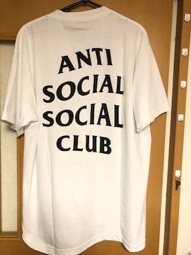 新品★ANTI SOCIAL SOCIAL CLUB ロゴTシャツ