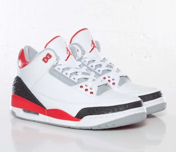 NIKE AIR JORDAN 3 RETRO Fire Red 28.5cm ナイキ ジョーダン