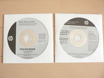 HP Elite8300,Pro6300 Windows 8 リカバリDVD 64bit◆新品