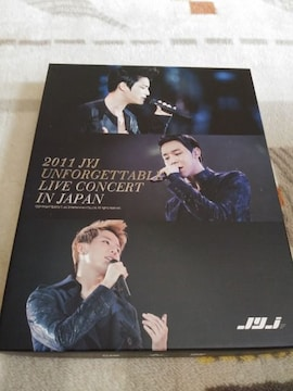 *☆JYJ☆UNFORGETTABLE LIVE CONCERT IN JAPAN 2011 DVD♪