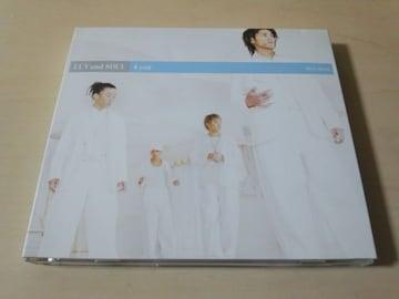 LUV and SOUL CD「4 you」 男性R&Bボーカルグループ 初回盤●