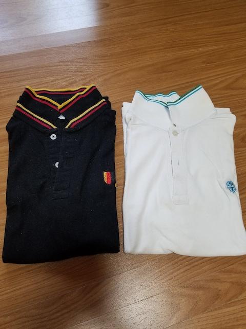 メンズ★ポロシャツ2枚セット★L  < 男性ファッションの