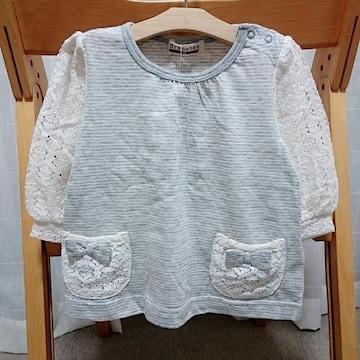 ◆即決★ラス1新品★ブランシェス★半袖Tシャツ★80cm