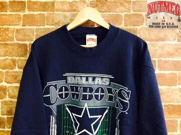 表記M/USA製!1994年ビンテージアメリカンフットボールユーズドスウェット古着アメカジ