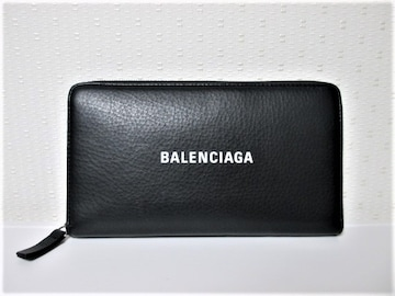 ☆BALENCIAGA バレンシアガ ラウンドファスナー 長財布/財布/ユニセックス